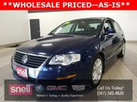 New Price! *WHOLESALE PRICED--AS IS NO WARRANTY, Passat