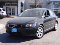 New Arrival! This 2006 Volvo S40 Includes