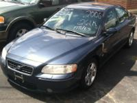 2006 Volvo S60 Blue 261k miles - $5,800.00 to finance