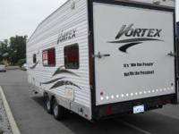 26' Vortex Toy Box Model 224fb. Huge Front Bathroom