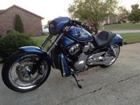 Blue paint, 240 Wide Tire kit (43687-06) and harley 5