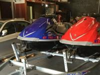 ,.,.;'2006 Blue vx 110 Deluxe 3 seats with Reverse 4