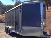 2006 Wells Cargo Enclosed Cargo Trailer. 2006 Wells