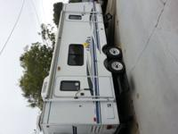 25 feet long by 8 feet wide trailer for sale by owner.