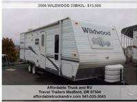2006 WILDWOOD 23BH2L RT, Call for mileageAddress:
