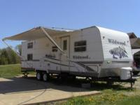 2006 Forest River Wildwood LE 28BGSS bunkhouse travel