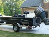 2006 Xpress H51, 17', HyperLift boat with Yamaha 90hp,