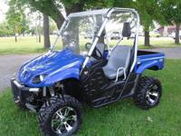 This is a super nice utv. I bought it brand new! My