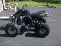 2006 Yamaha Blaster 200cc, 2 stroke, kick start, ALL