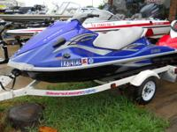 2006 Yamaha Deluxe VX 110 jet ski for sale, fresh, in