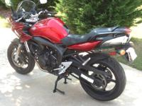 2006 Yamaha FZ6 (600 cc) Excellent condition, garage