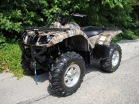 2006 Yamaha Grizzly 660 4x4 EFI Auto IRS Winch Tires