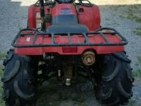 2006 Yamaha Kodiak 450 4x4 Automatic. This 4 wheeler is