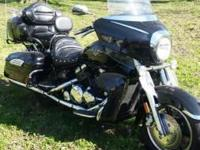 2006 Yamaha Midnight Venture . Chrome luggage rack-