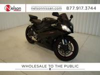 2006 Black Yamaha R6 with just 12,087 miles! brbrThis
