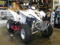 2006 YAMAHA RAPTOR 350 RUNS GOOD MANUAL TRANSMISSION