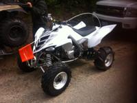 Offering my 2006 Yamaha Raptor 700r. Runs terrific and