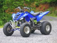 2006 Yamaha Raptor 700R. All stock except for Alba