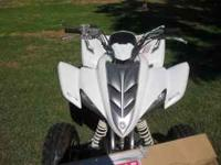 2006 Yamaha Raptor for sale. 2500 OBO. Paddle Tires