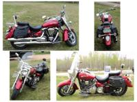 Perfect for travelling! 2006 Yamaha Roadway Superstar