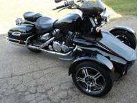 This is a 2006 Yamaha Royal Star Venture which has been