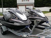 Jet skis in good condition, They only have 161 hours