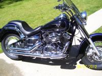 2006 Yamaha V Star 650 Custom With Only 6000 Miles On