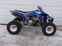 2006 Yamaha YFZ450R. This sport-quad is ready for the