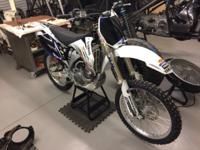 As of today this YZ 250 F has brand-new tires brand-new