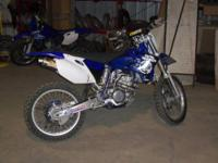 2006 Yamaha YZ250F is clean and runs out great. The