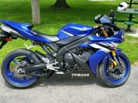 This 2006 Yamaha R1 has only 10850 miles. Mileage will