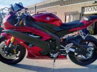 2007 YAMAHA YZF R6 RUNS GREAT CLEAN TITLE 19,700 MILES