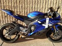 Motorcycles Sport 793 PSN. 2006 Yamaha YZF-R6 Great