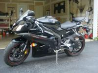 2OO6 YAMAHA R6 YZF ,600 CC,ENGINE SIZE: ,ENGINE TYPE: