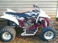 i have a yfz 450 it has no problems with it just need