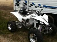I got a 2006 Yamaha YFZ 450 it has Dr. D exhaust, K+N