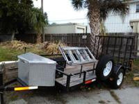 i have for sale a 2006 12x6 utility trailer with 5 new