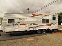 2006 30' KOMFORT TRAILBLAZER K2 M-27 TOY HAULER TRAVEL
