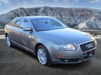 A6 3.2 quattro, 4D Sedan, 3.1L V6 FSI DOHC 24V, 6-Speed