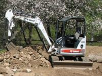 2006 Bobcat 430 mini excavator 338 hours exceptional