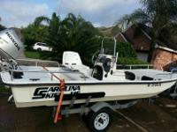 Excellent condition 2006 Carolina Skiff J162006 Honda