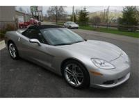 Spectacular 2006 Machine Silver Corvette convertible