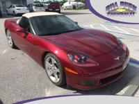 Recent Arrival! 2006 Chevrolet Corvette Convertible in