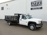 Great Running Diesel Stakebed Truck With only 16K