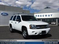 Summit White 2006 Chevrolet TrailBlazer LS 4WD 4-Speed