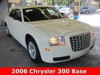 2006 Chrysler 300 Sedan ** White 4D Car ** regional LOW