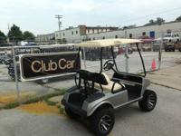 2006 Club Car DS lifted  Gas  A-ARM Lift  12'' Wheels