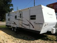 06 Coachman Bunkhouse with a super-slide. This is a