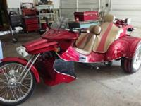 2006 Custom Built Trike. Gorgeous One of a kind and