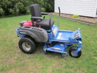 2006 Dixon lawnmower for sale. 44 inch deck. Honda